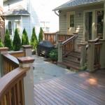 Ipe Deck with Custom Railing - Potomac, MD